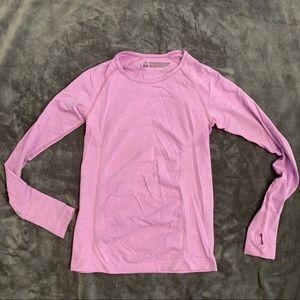 Victoria Secret Sport long sleeve pink workout top